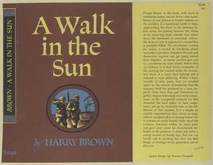 Dust Jackets - A walk in the sun.
