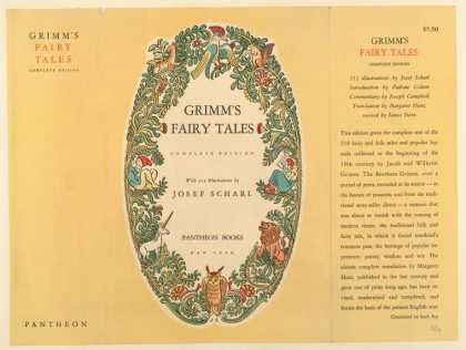 Dust Jackets - Grimm's fairy tales.