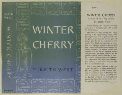 Dust Jackets - Winter Cherry.
