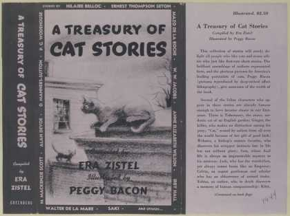 Dust Jackets - A treasury of cat stories
