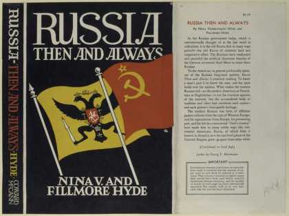 Dust Jackets - Russia then and always.