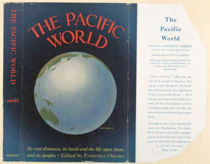 Dust Jackets - The Pacific world : its v
