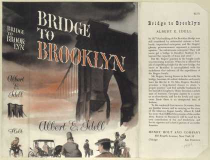 Dust Jackets - Bridge to Brooklyn.