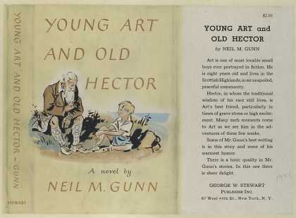 Dust Jackets - Young Art and Old Hector.