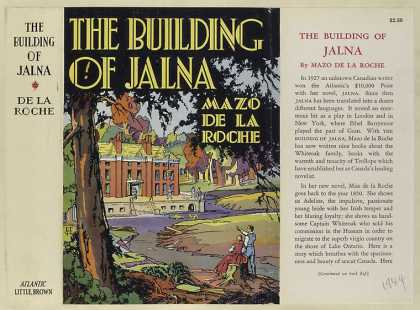 Dust Jackets - The building of Jalna.