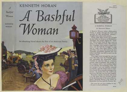 Dust Jackets - A bashful woman.