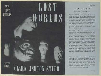 Dust Jackets - Lost worlds.