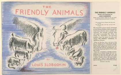 Dust Jackets - The friendly animals.