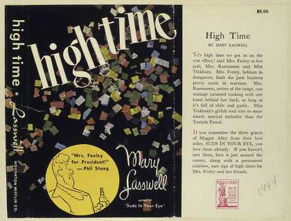 Dust Jackets - High time.
