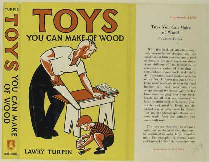 Dust Jackets - Toys you can make of wood