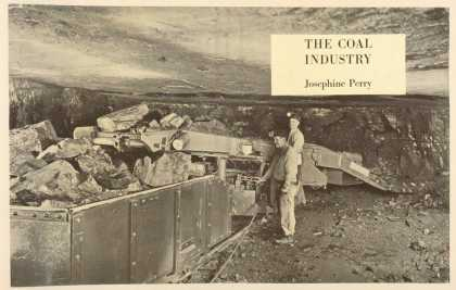 Dust Jackets - The coal industry.