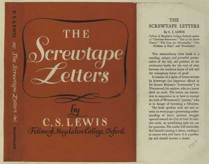 Dust Jackets - The Screwtape letters.