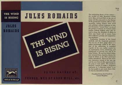 Dust Jackets - The wind is rising. (Vol.
