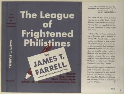 Dust Jackets - The league of frightened