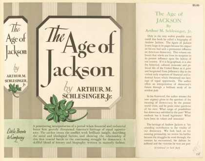 Dust Jackets - The age of Jackson.