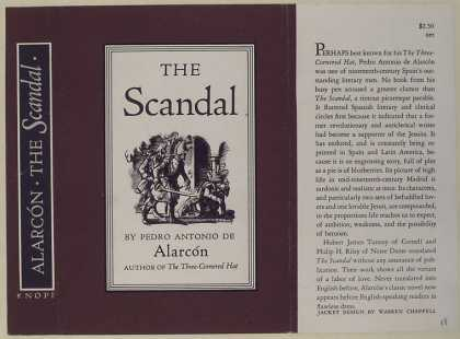 Dust Jackets - The scandal.