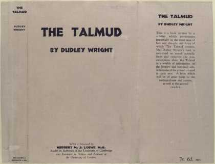 Dust Jackets - The Talmud.