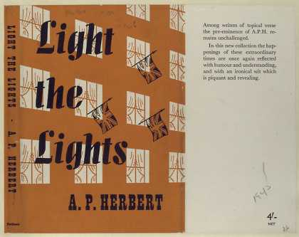 Dust Jackets - Light the lights.