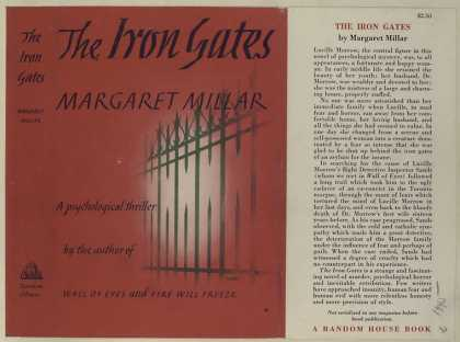 Dust Jackets - The iron gates : a psycho