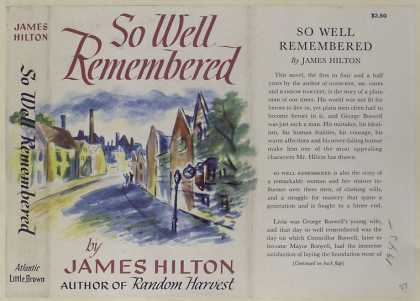 Dust Jackets - So well remembered ...