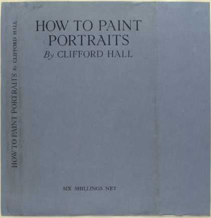 Dust Jackets - How to paint portraits.