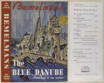 Dust Jackets - The blue Danube.