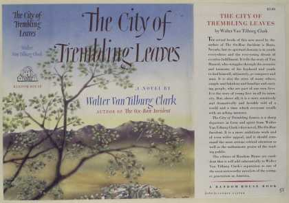 Dust Jackets - The city of trembling lea