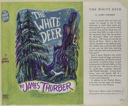 Dust Jackets - The white deer.