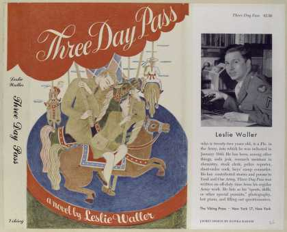 Dust Jackets - Three day pass.