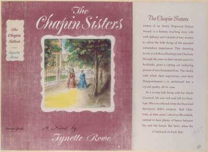 Dust Jackets - The Chapin sisters.