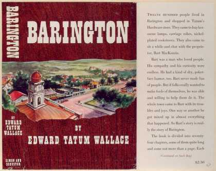 Dust Jackets - Barington.