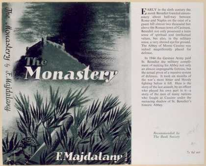 Dust Jackets - The monastery.