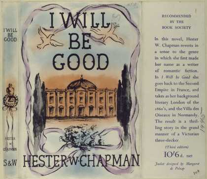 Dust Jackets - I will be good.