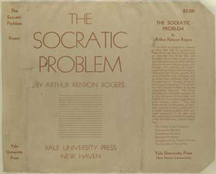 Dust Jackets - The Socratic problem.