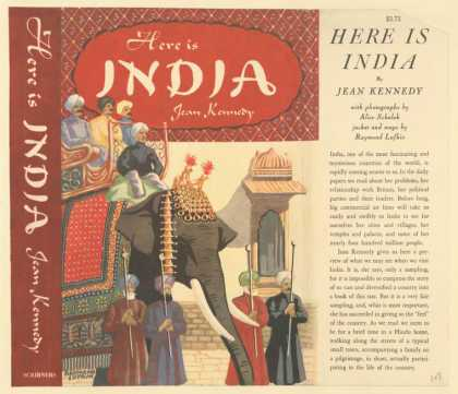 Dust Jackets - Here is India.