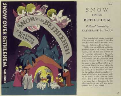 Dust Jackets - Snow over Bethlehem.