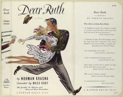 Dust Jackets - Dear Ruth, a comedy.