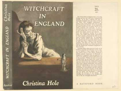 Dust Jackets - Witchcraft in England.