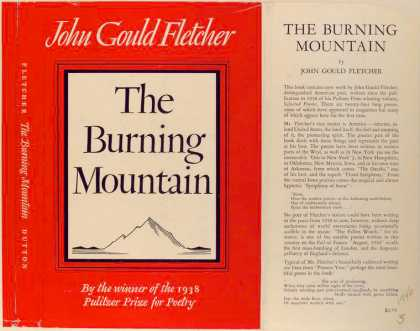Dust Jackets - The Burning Mountain.