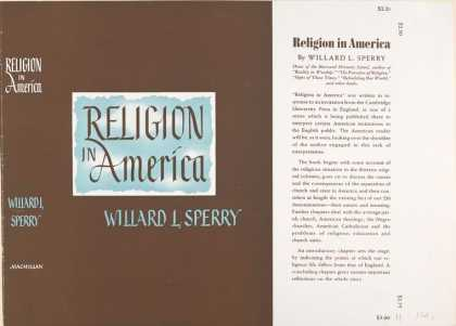 Dust Jackets - Religion in America.