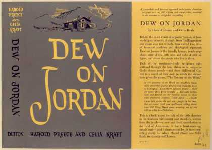 Dust Jackets - Dew On Jordan.