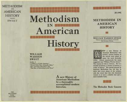 Dust Jackets - Methodism in American his