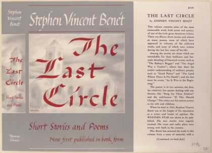 Dust Jackets - The Last Circle.