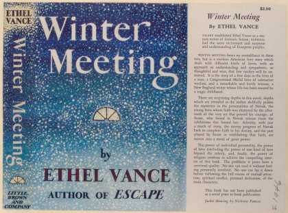 Dust Jackets - Winter Meeting.