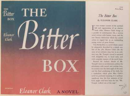 Dust Jackets - The Bitter Box.