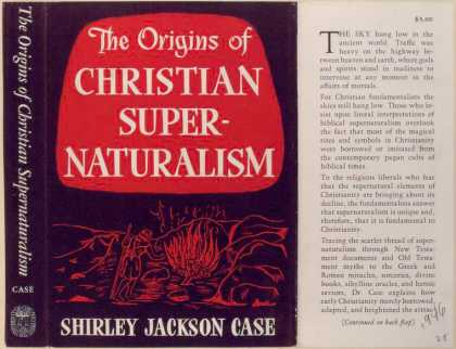 Dust Jackets - The Origins of Christian