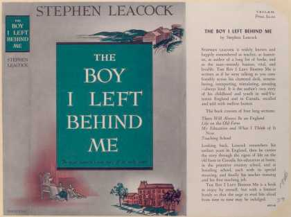 Dust Jackets - The Boy I Left Behind Me.