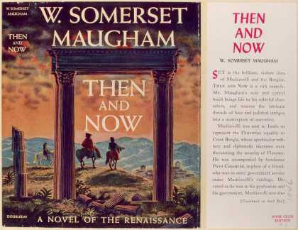 Dust Jackets - Then and now, a novel.