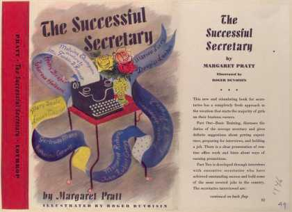 Dust Jackets - The successful secretary.