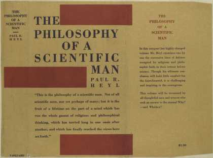 Dust Jackets - The philosophy of a scien
